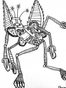 Robot line drawings