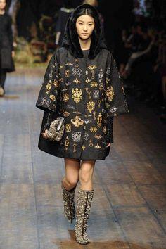 Dolce & Gabbana Winter 2015 Collection #MFW #AW14  #FashionWeek milan, fashion weeks, runway, 2014 rtw, dolc, fall 2014, photo galleries, gabbana fall, 2014 readytowear