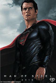 Henry Cavill-Man of Steel (2013)-22 by Henry Cavill Fanpage, via Flickr, Enhanced version of Wal-Mart poster via ComicBookMovie.com poster