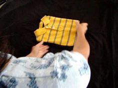 Fold T-Shirts origami style