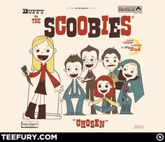Buffy and the Scoobies from Teefury!