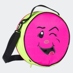 NEON PINK FUNNY FACE LUNCHBOX  #littlemissmatched #lunchbox