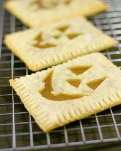 Pumpkin Poptarts! More fun than Carving Jack-O-Lanterns