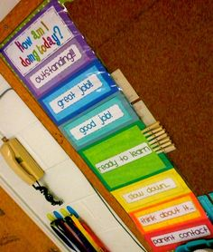 1st Grade Classrooms | 1st grade / Clip Chart for Classroom Management {{you can find this ...