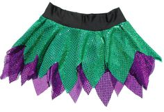 """Dress up as your favorite character by choosing two colors from the list below. The Pixie length SparkleLight (no built-in shorts) skirt is no longer than 13"""" at any point.  (Choose the Princess length if you prefer a slightly longer skirt.)"""