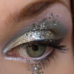 snow princess eye makeup