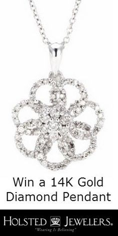 #RePin  Go #Win a Diamond Cluster #Pendant! #jewelry #sweeps #prize VALID UNTIL JULY 13