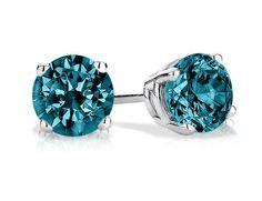 Diamond Stud Earrings Diamond Studs Diamond Jewelry White Gold Jewelry