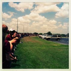 The Texas A&M students that blocked Westboro Baptist Church protesters with a human wall | 26 Moments That Restored Our Faith In Humanity This Year