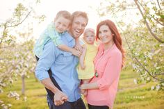 Spring Time Family Session // SB Childs Photography