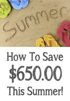 Join me in my Summer Savings Challenge! :-)