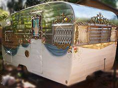 """""""Cinderella"""" vintage trailer."""