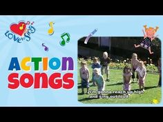 Reach Up High | Tofa Tafa with Lyrics | Children Love to Sing Kids Action Dance Party Songs
