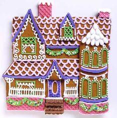 Georgian Gingerbread House