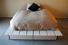 Custom Platform Bed on Etsy, $2,500.00