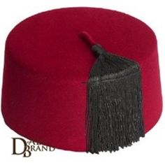 """Known all around the world as """"Fez"""" , due to the city it's from which holds the same name,  it's an authentic  combination of history and originality. Its bright red color is unique as it's a result of a specific dyeing method which combines traditional techniques and natural colorants. This is suitable for any oriental themed events as it can be added to any kind of look. It can be suitable for men and women alike!"""