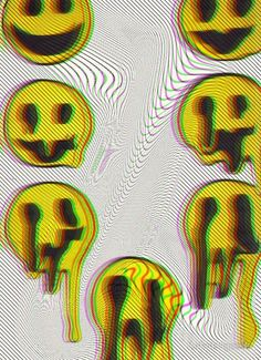 """Trippy Smiles"" Posters by forbiddngoods 