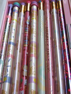 80s sanrio pencil collection