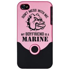 Marine Girlfriend iPhone Case