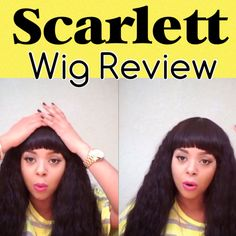 Scarlett 21tress wig