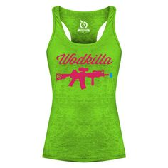 Women's CrossFit Apparel - LIFE AS RX WODKILLA TANK $35.00