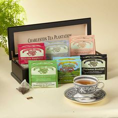 Charleston Tea Plantation Tea Chest