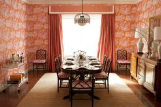 Dining room by Diane Bergeron.