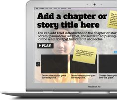 Storyplanet - innovative way to tell a story through the use of tiles
