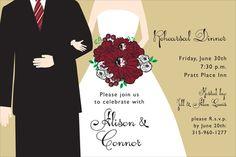 Florida State University Newlywed Invitations