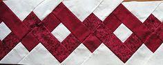 sew, idea, optical illusions, quilt border, quilt block, braids, optic illus, fabric, braid border