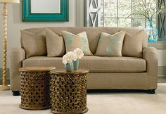 Sure Fit Slipcovers: Summer Decorating: Revive Your Furniture By Pairing A Pattern Print With A Solid Color For An Exciting Interior!