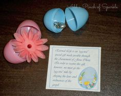 """Add A Pinch Of Sparkle: Come Follow Me March: An """"Egg-stra"""" Special Gift."""