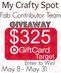 My Crafty Spot Target Giveaway