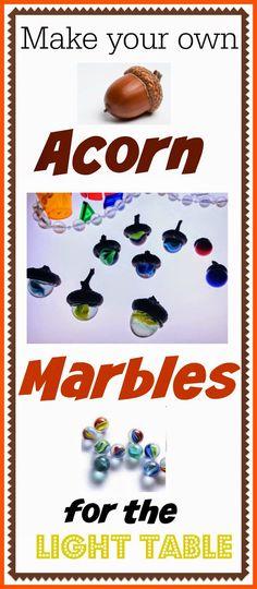 Acorn Marbles