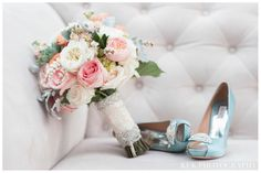 Mahshid & Mike's Wedding, Rancho Las Lomas | Details Details - Wedding and Event Planning, blue shoes, bouquet, persian, luxury, bling, pastel, wedding colors, KLK Photography www.klkphotography.com bouquet, wedding colors, blue shoes