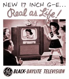 1951 GE Television