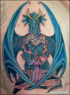 Dragon Tattoo # 134