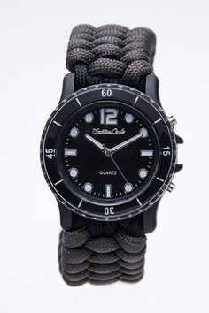 Survive It Standard Knot Watch made with Paracord.
