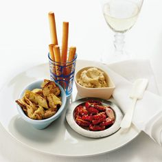 Mediterranean mezze; these tapas dishes make for perfect snacking as the sun sets on a hot summer's day.