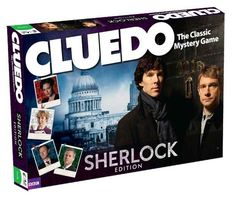 10 Pieces of Sherlock Merch You Need Right Now- where the victim can be the killer-- I've got this and it's the BEST CLUDO EVER!!