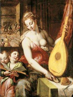 music, pant art, allegori