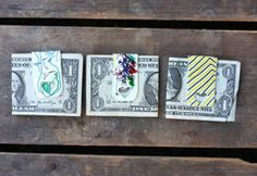 Million Dollar Money Clips from Shrinky Dinks