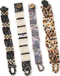 bead bracelet, beaded bracelets, crystal, beading projects