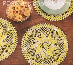 I think I'm becoming strangely obsessed with doilies...
