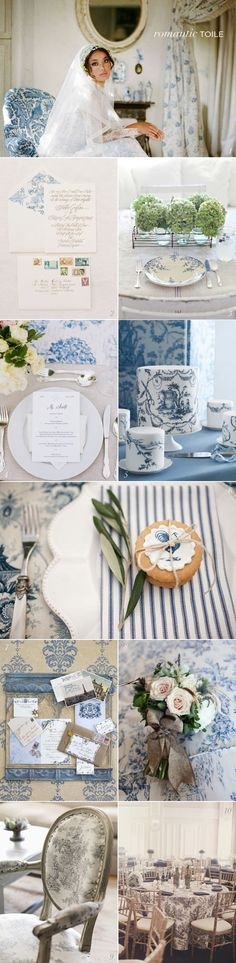 Why not try toile as