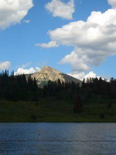 Hahn's Peak, an hour northwest of Steamboat Springs, CO