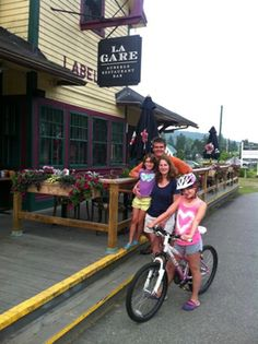 A Family Trip in Quebec — Bike Overnights