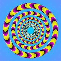 optical illusions, Kitaoka Optical Illusions