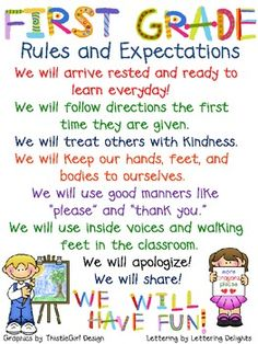 classroom 1st grade, first grade expectations, grade rule, classroom rules 1st grade, 1st grade classroom rules, first grade ideas, first grade classroom rules, 1st grade teaching ideas, classroom rules first grade