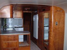1949 Spartan Royal Mansion 30 ft vintage travel trailer camper  Wood